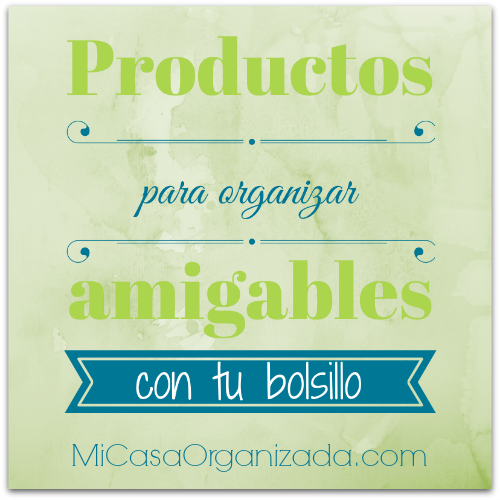 Productos para organizar economicos