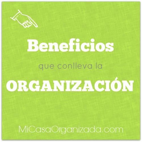 beneficios de la organizacion