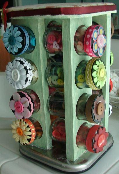 como organizar botones