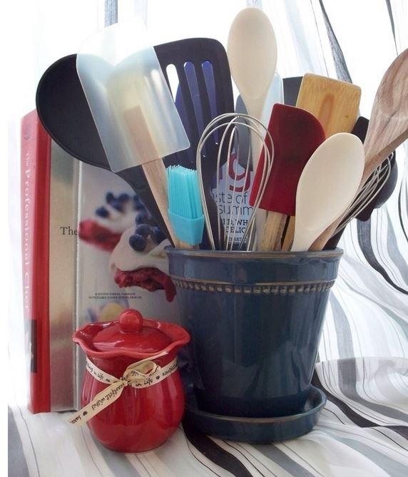 como organizar cucharones