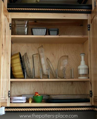 Ideas creativas para organizar los trastos en la cocina for Como armar mi cocina