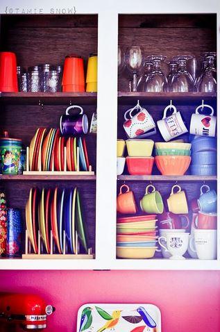 Ideas creativas para organizar los trastos en la cocina for Como ordenar la cocina