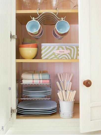 Ideas creativas para organizar los trastos en la cocina Como organizar una cocina pequena fotos