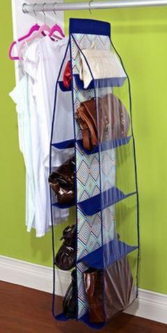 ideas de almacenamiento de mochila para el hogar 21 Ideas Para Organizar Carteras Bolsos Y Billeteras Mi