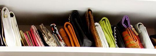 ideas para ordenar bolsos