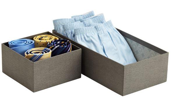 organizar corbatas