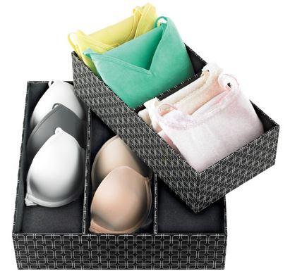 Las mejores herramientas para organizar gavetas o cajones mi casa organizada - Organizar ropa interior ...