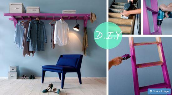 15 ideas para organizar tu ropa cuando no tienes cl set for Ideas muebles para poco espacio