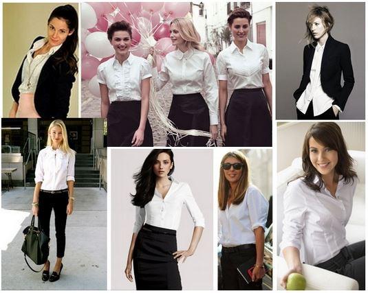 vestuario basico blusa blanca