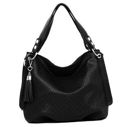 vestuario basico bolso negro