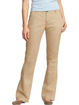 vestuario basico pantalones khaki