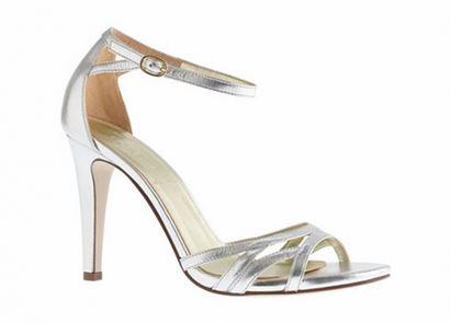 vestuario basico sandalia metalica de tiritas