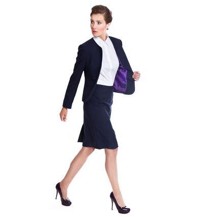 vestuario basico traje sastre enagua