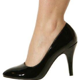 vestuario basico zapatos de tacon negros