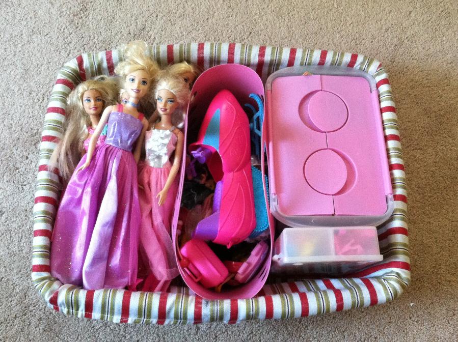 como organizar barbie