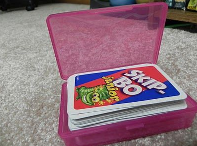 como organizar cartas de juego