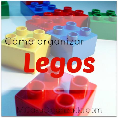 como organizar legos