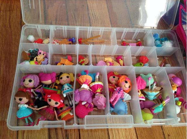 como organizar muñequitas