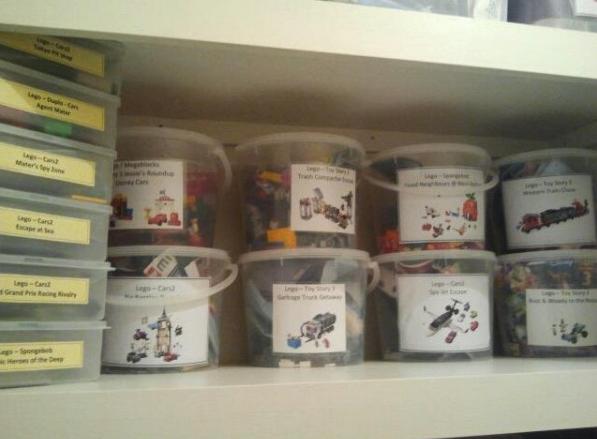 ordenar legos por set