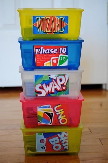 organizacion de juegos de mesa