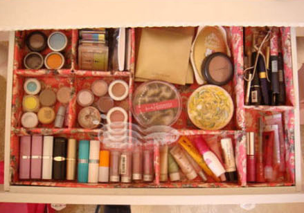 organizador maquillaje hazlo tu mismo