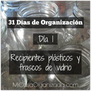 31 días de organización día 1