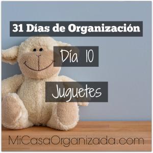 31 días de organización día 10