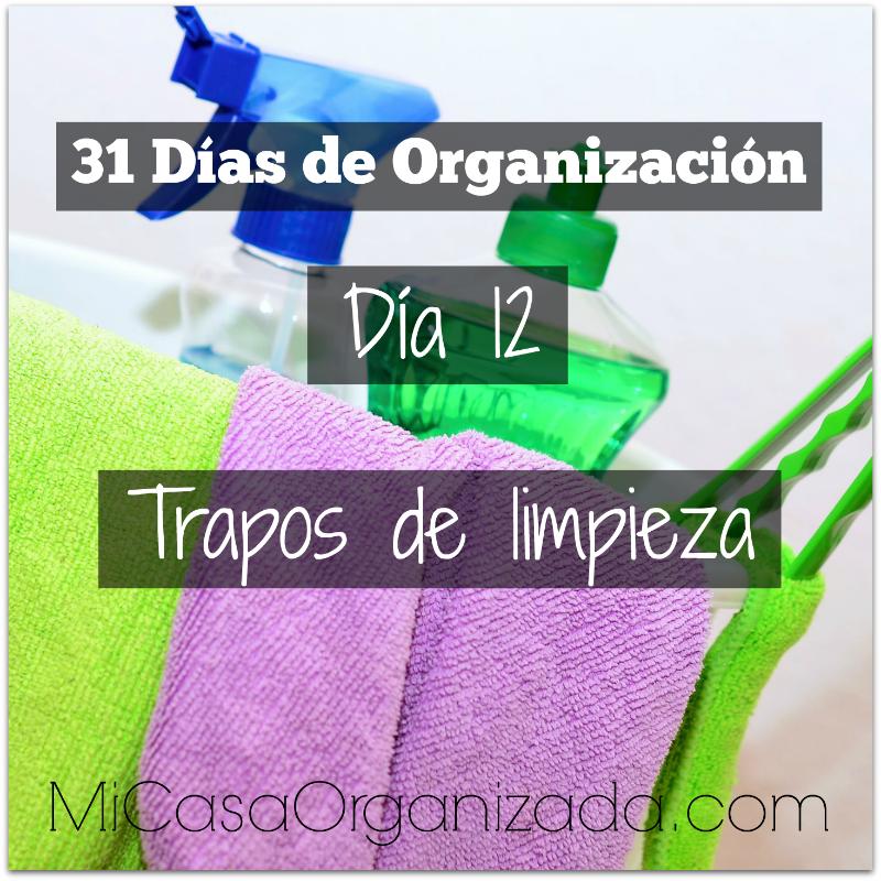 31 días de organización día 12