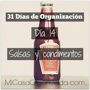 31 días de organización día 14