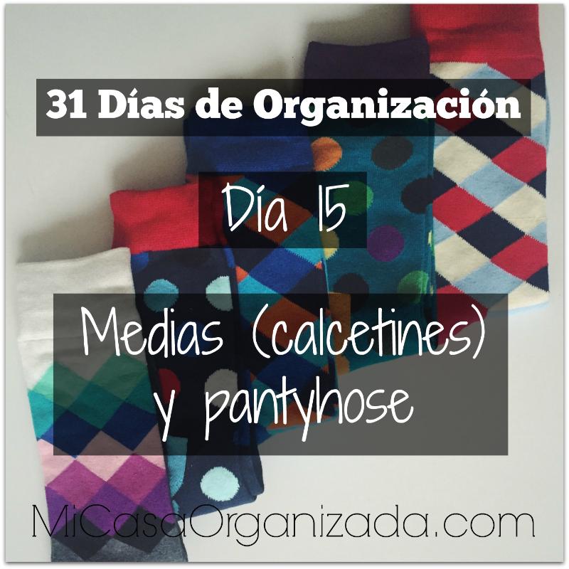 31 días de organización día 15
