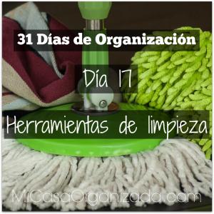 31 días de organización día 17