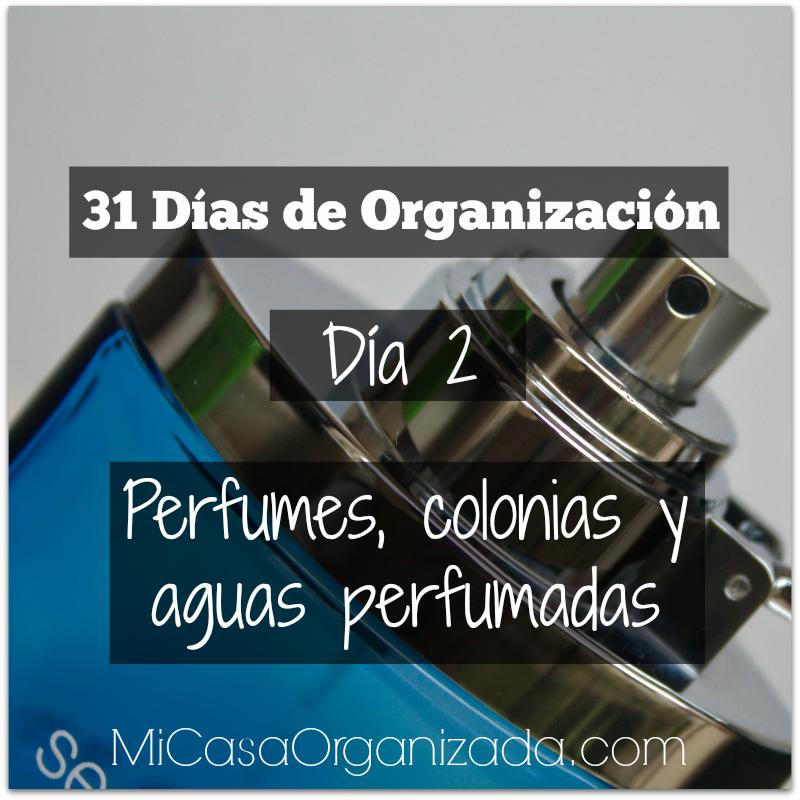 31 días de organización día 2