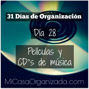 31 días de organización día 28