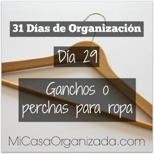 31 días de organización día 29