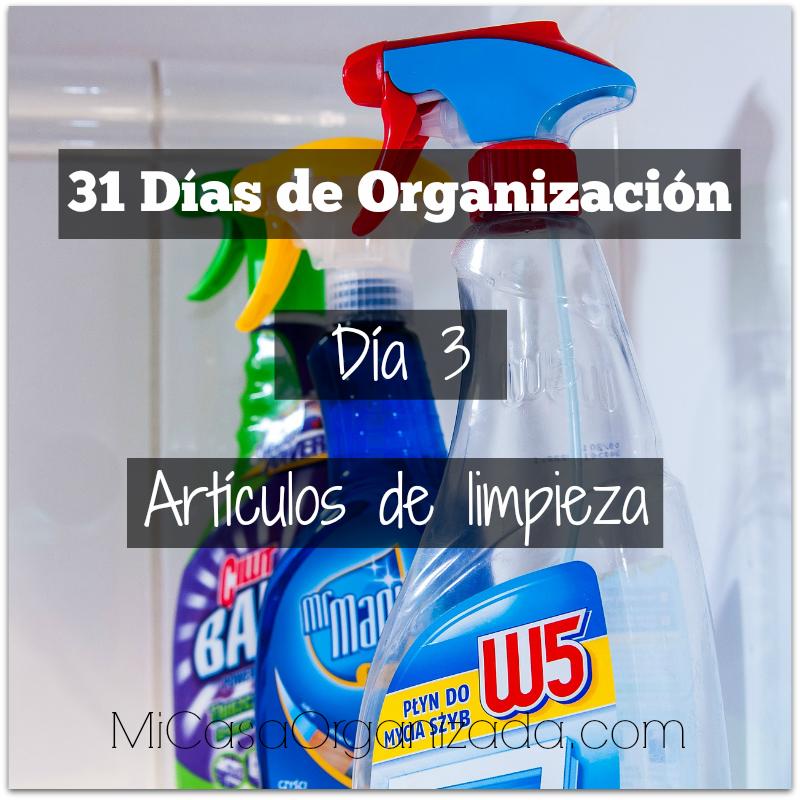 31 días de organización día 3