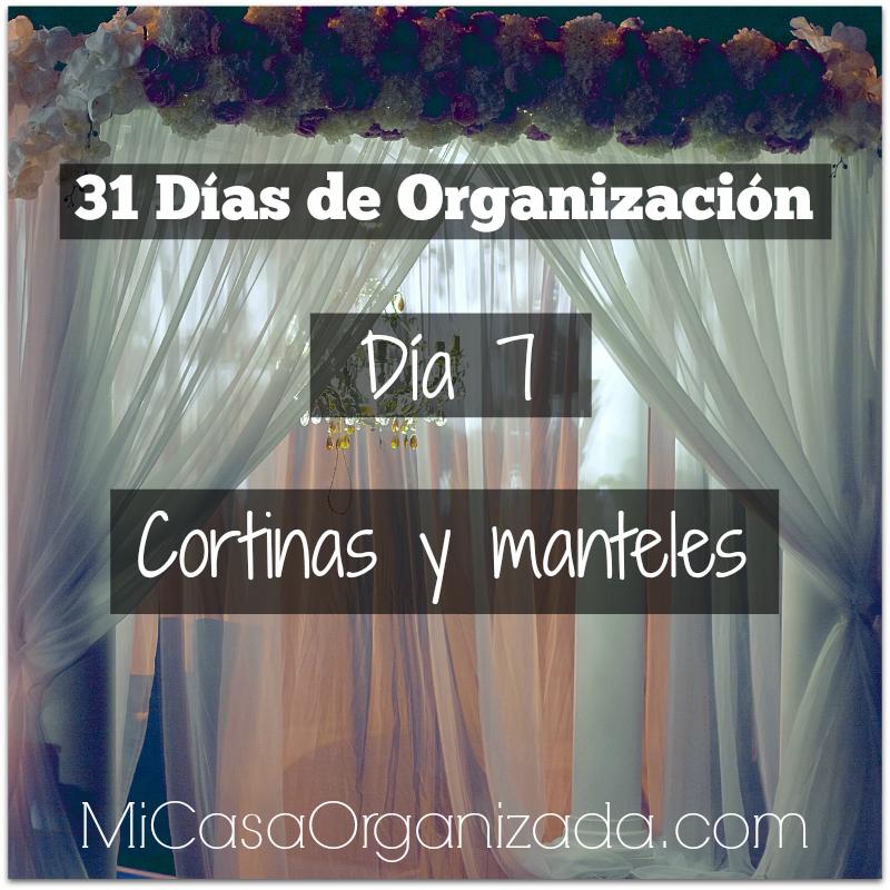 31 días de organización día 7