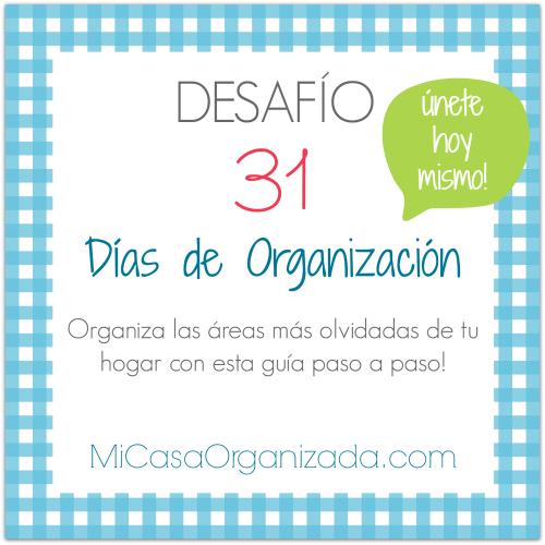 31 dias de organizacion
