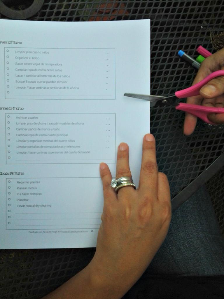 como delegar tareas domesticas