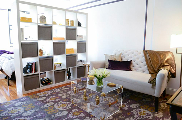 división con mueble