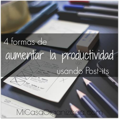 4 formas de aumentar la productividad