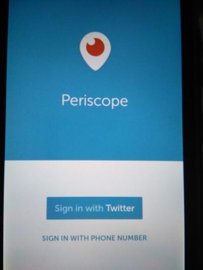 como usar app periscope
