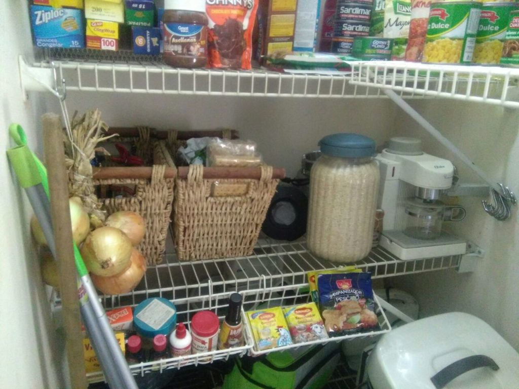 como almacenar alimentos