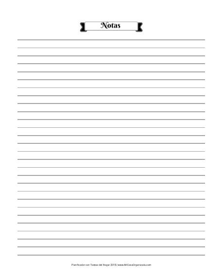 Planificador 2015 notas