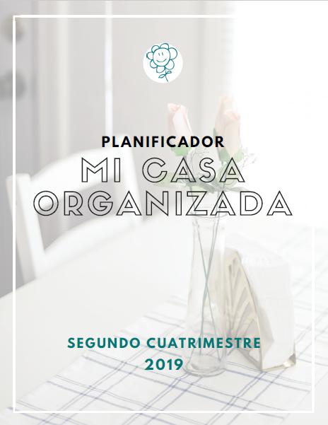Planificador de las tareas del hogar Mi Casa Organizada 2-2019