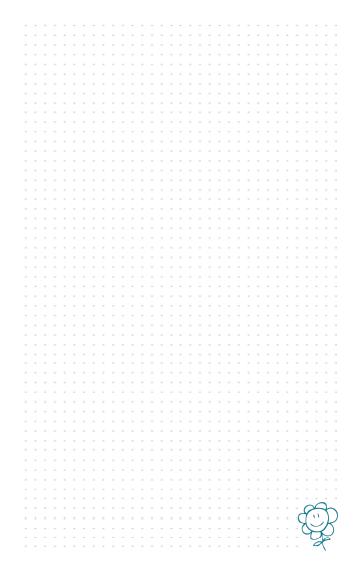 notas Agenda Planificador Mi Casa Organizada 2021